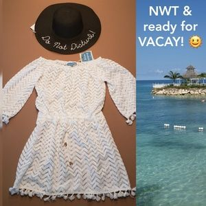 NEW Hat & Cover-up 💖  Perfect for Vacay 🌞